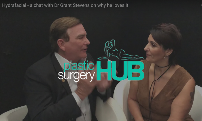 """""""Dr Grant Stevens on why practitioners and patients love the HydraFacial"""" – Plastic Surgery Hub"""